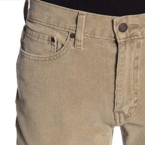 Levi's 514 Straight Corduroy Pants 32x30